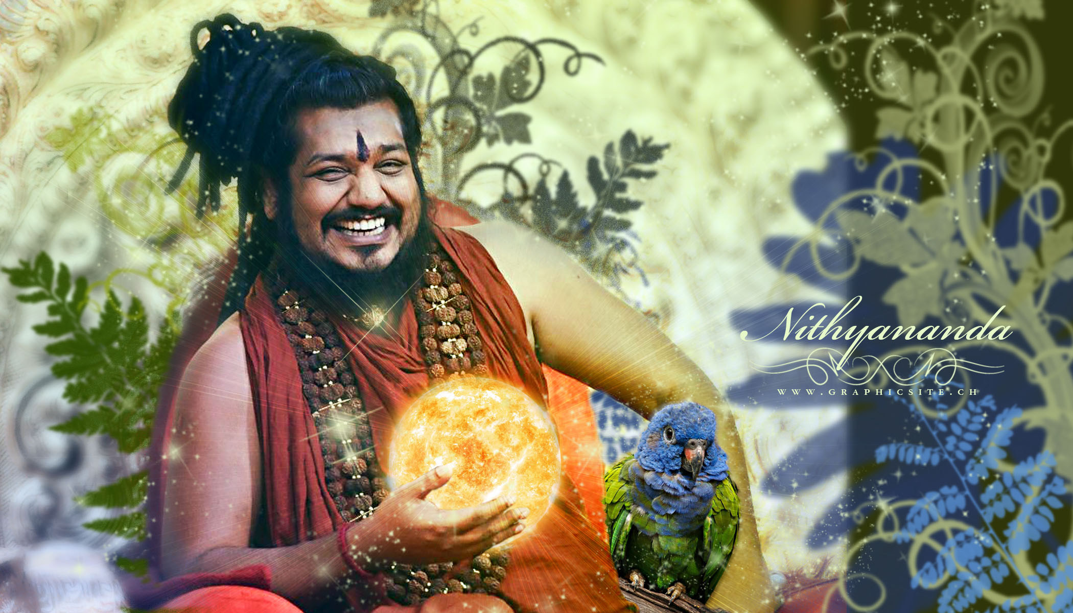 Nithyananda_Wallpaper_Forest